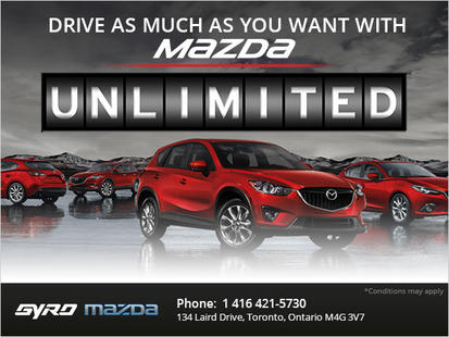 Mazda Unlimited Mileage Warranty