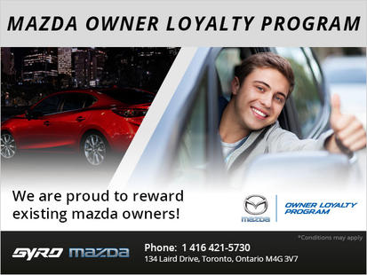 Mazda Owner Loyalty Program