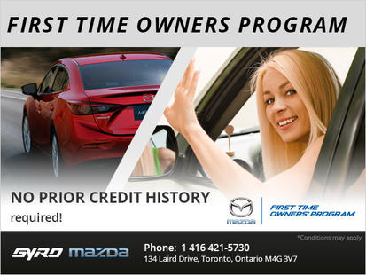 Mazda 1st-Time Owner's Program