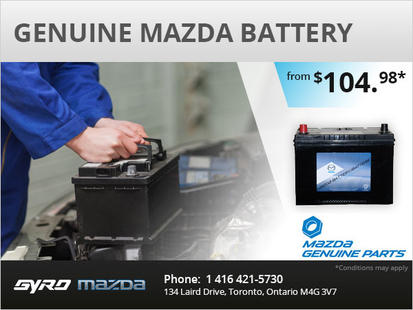 Genuine Mazda Battery