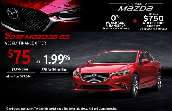 Upgrade to Mazda 2018 Mazda 6 Sport Today!