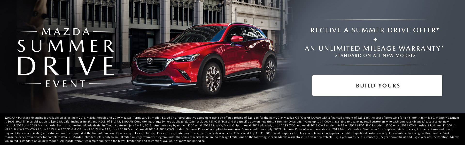 Mazda Summer Drive Event