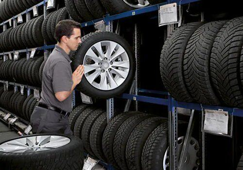 SEASONAL TIRE STORAGE AVAILABLE