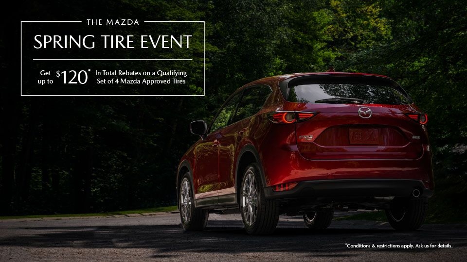 THE MAZDA SPRING TIRE EVENT