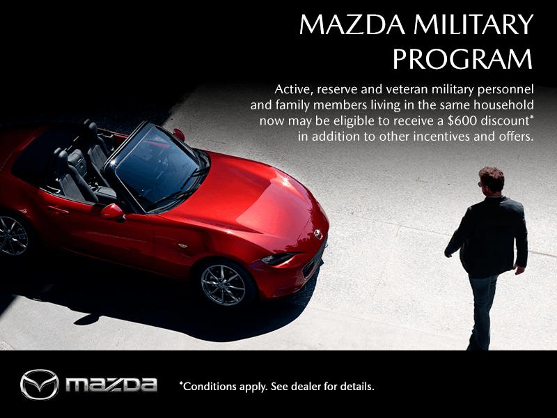 THE MAZDA MILITARY PROGRAM