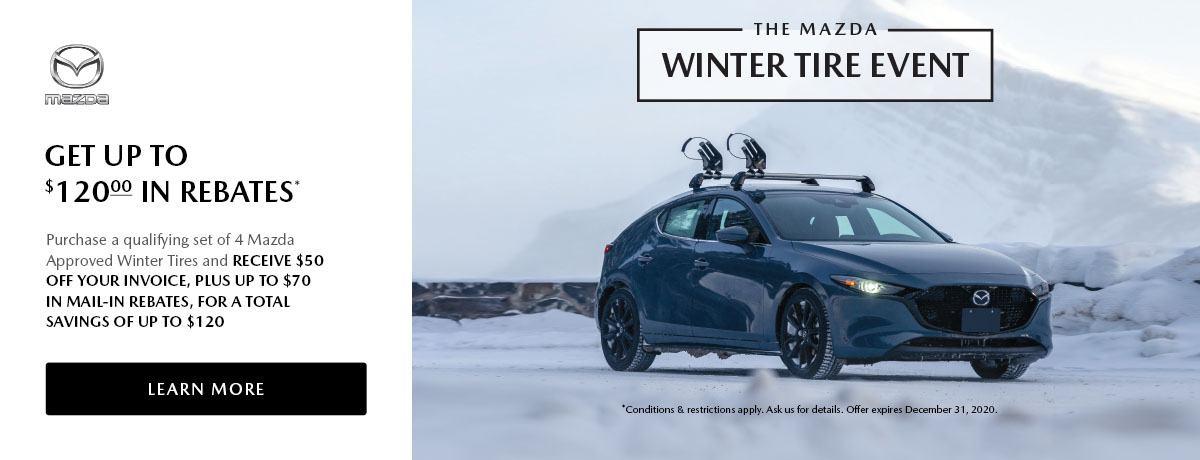 The Mazda Winter Tire Event 2020